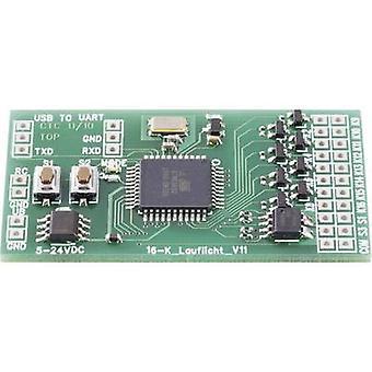 Módulo de controlador de 16 canales luz de Conrad componentes