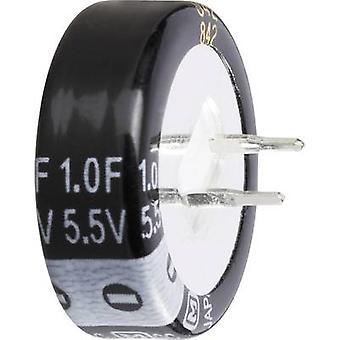 Thomsen 473120 Goldcap kondenare 1 F 5,5 V 30% (Ø x H) 21,5 mm x 10 mm 1 st (s)