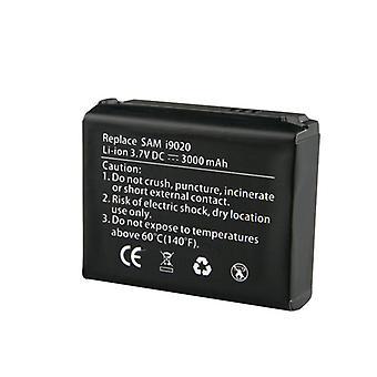 Illimité batterie cellulaire prolongé et porte pour Samsung Google Nexus S i9020