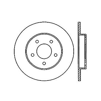 StopTech 127.62045R Sport Drilled/Slotted Brake Rotor (Rear Right), 1 Pack