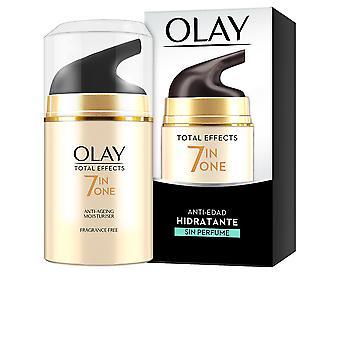 Olay Total Effects Anti-edad Hidratante Sin parfum 50 Ml pour femme