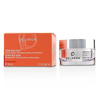 Delarom Delight Rich Cream - For Dry To Very Dry Skins & Extreme Climates - 50ml/1.7oz
