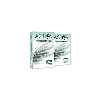 Activa compressie kousen panty klasse 2 Enkelbandjes zand 259-0958 Sml