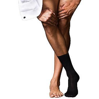 Falke No13 Finest Piuma Cotton Socks - Black