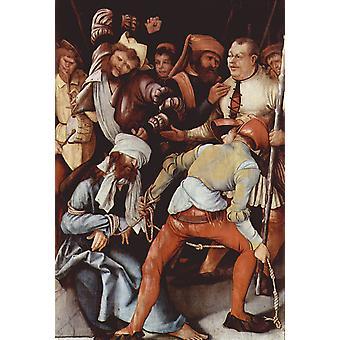 La moquerie du Christ, Matthias Grunewald, 60x40cm