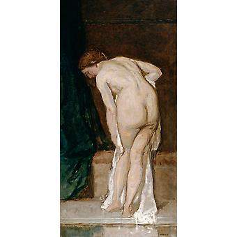 Vrouwelijk naakt, Eduardo Rosales, 80x40cm
