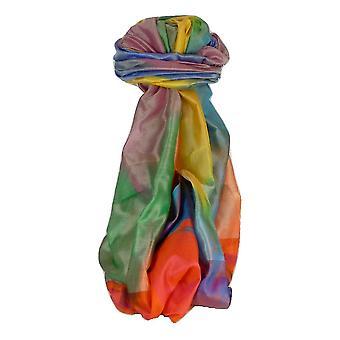 Varanasi Premium Silk Long Scarf 4139 GIFT BOX WRAPPED por Pashmina & Silk