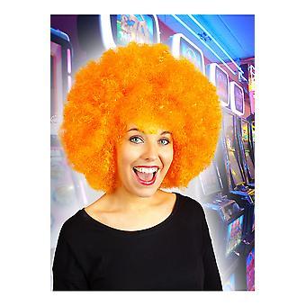 Parrucche Afro parrucca arancione