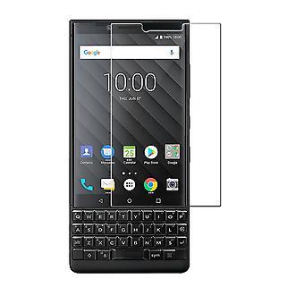 BlackBerry KEY2 LE tank bescherming weergeven glazen tank dia 9 H glazen - 2 stuks