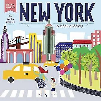 New York - een boek van kleuren door Ashley Evanson - 9780448489131 boek