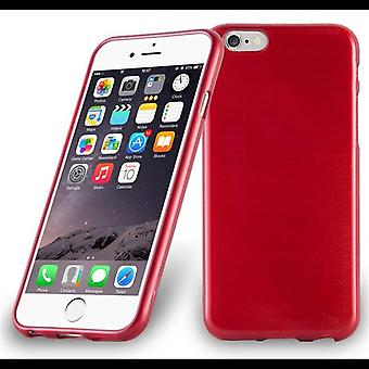 Cadorabo hoesje voor Apple iPhone 6 / iPhone 6S case cover - telefoon hoes gemaakt van flexibele TPU siliconen - siliconen hoes beschermhoes Ultra Slim Soft Back Cover Case Bumper