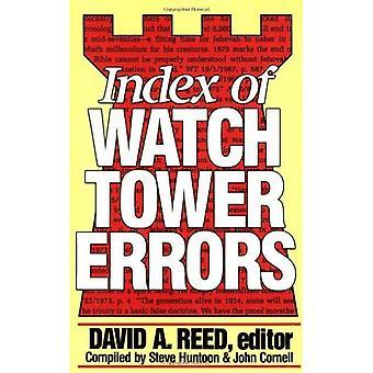 Index der Wachtturm Fehler 1879 bis 1989