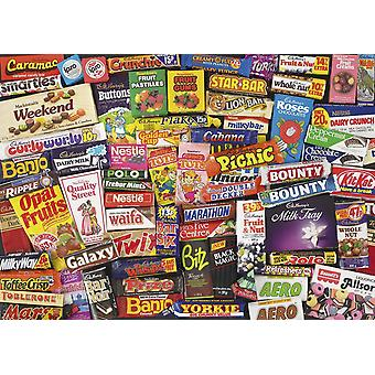 Gibsons 1980 Sweet Memories Jigsaw Puzzle (1000 pièces)