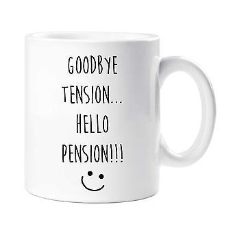 Auf Wiedersehen Hallo Pension Becher spannen