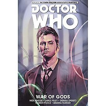 Doctor Who: Tionde doktorn: kriga av gudar, volym 7