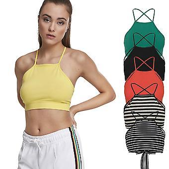 Urban classics ladies - TRIANGLE short stretch tank top