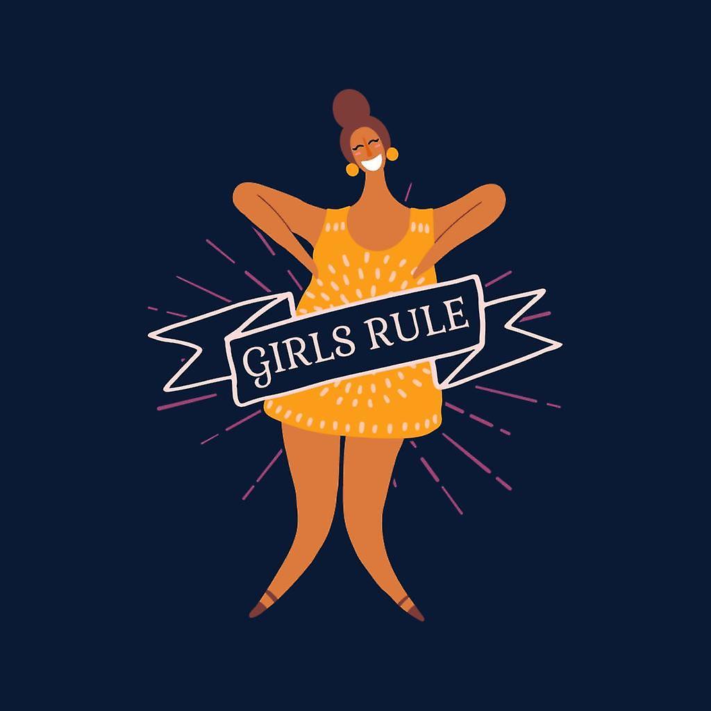 Girl Power Girls regla bandera chaqueta de Varsity