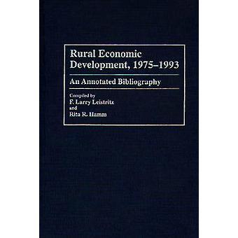 農村経済開発 19751993 Leistritz ・ ラリー f. によって解説付き文献目録