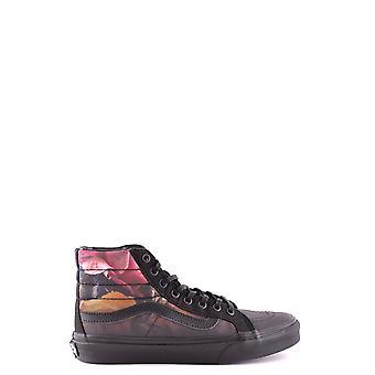 Vans Ezbc071011 Kvinder's Black Fabric Hi Top Sneakers