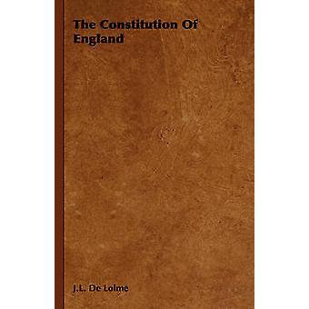 De Grondwet van Engeland door De Lolme & J.L.