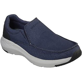 Skechers Mens Parson Trest Canvas Slip On Casual Loafers