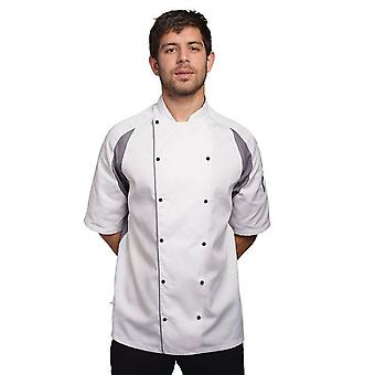 Le Chef Unisex Staycool Executive Short Sleeved Jacket