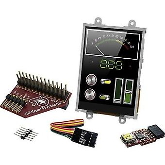4D Systems PCB design board SK-32PTU-Pi