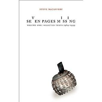 Seven Pages Missing by Steve McCaffery - 9781552450499 Book