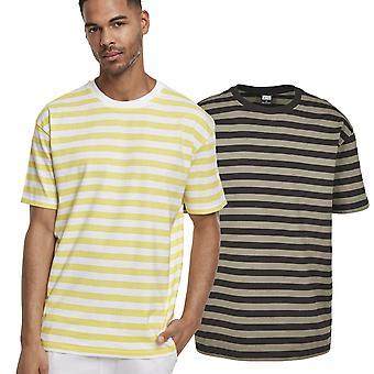 Urban Classics - Oversized Yarn Dyed Bold Stripe Shirt