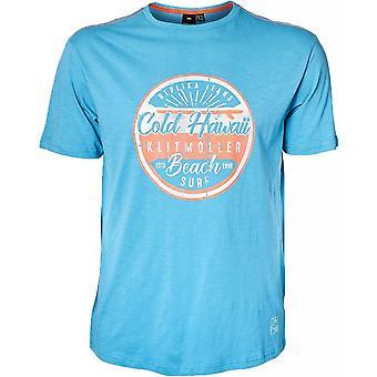 REPLIKA North 56°4 Logo Print T Shirt