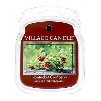 Dorf Kerze Wachs Schmelzpackungen für den Einsatz mit Schmelztorte & Ölbrenner Nantucket Cranberry