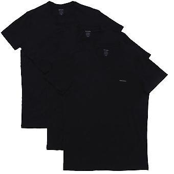 ديزل UMTEE جيك 3-حزمة & أبوس; الرقبة تي شيرت, كل أسود, صغير