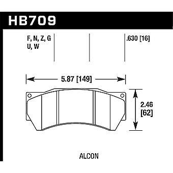 Hawk ydeevne HB709F. 630 HPS