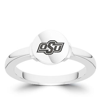 Oklahoma State University Engraved Sterling Silver Signet Ring