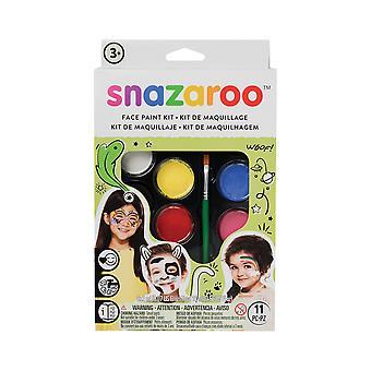 Kit di vernice per faccia Bristol Novelty Snazaroo