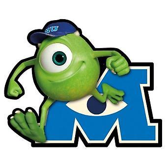 Car Magnet - Disney - Monster University - Mike Gifts New Licensed Toys 21962