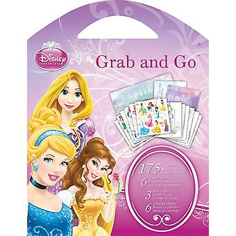 Grab and Go Stickers - Disney Princess Stationery - New st9100