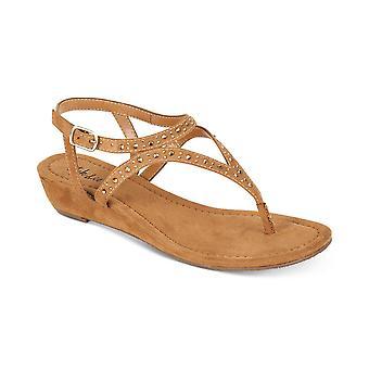 Stijl & Co. Womens Hareet Open teen Casual enkel riem sandalen