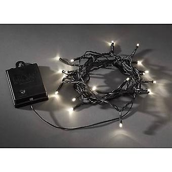 Konstsmide 3724-100 Micro holiday lights Outside battery-powered No. of bulbs 40 LED (monochrome)