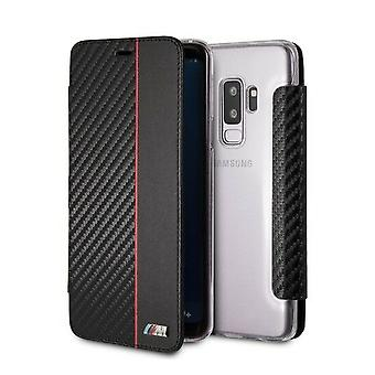 BMW M Sport Book Case for Samsung Galaxy S9 Plus-Black
