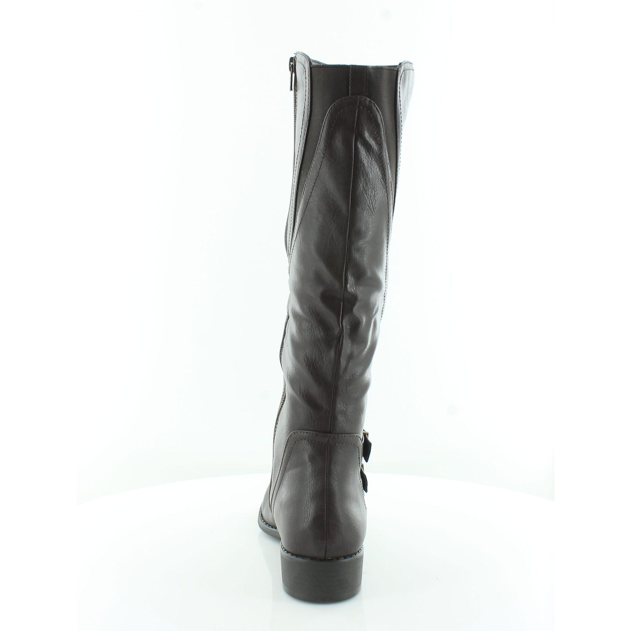 Stil & Co kvinner Milah Almond toe kne høy ridning støvler