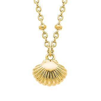 s.Oliver Jewel womens necklace silver gold shell 2026119