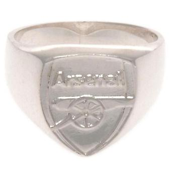 Arsenal FC Sterling Silver Ring