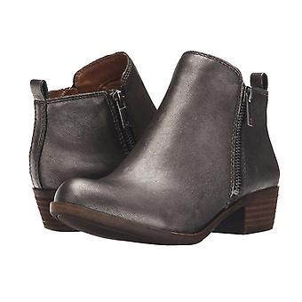 Lucky Brand Womens LK-BASEL Leather Almond Toe Ankle Chelsea Boots
