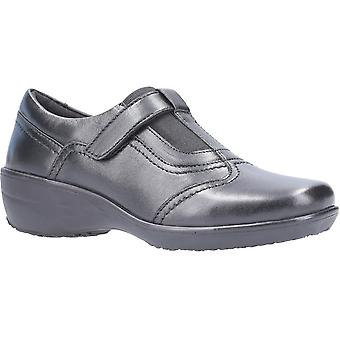 Fleet & Foster Womens Ethel Slip On Leather Casual Shoes