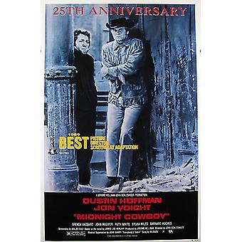 Middernacht Cowboy (dubbel zijdig 25e verjaardag) originele Cinema poster