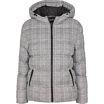 Urban Classics Women's Winter Jacket AOP Glencheck Buffer