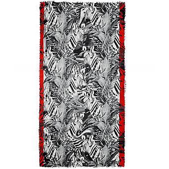 Ahujasons Zebra Print sjaal van Wolmix