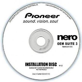Pioneer software Nero Suite 3 OEM versie 6,6