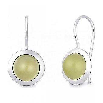 Quinn - Silver earrings with lemon quartz - 035839948